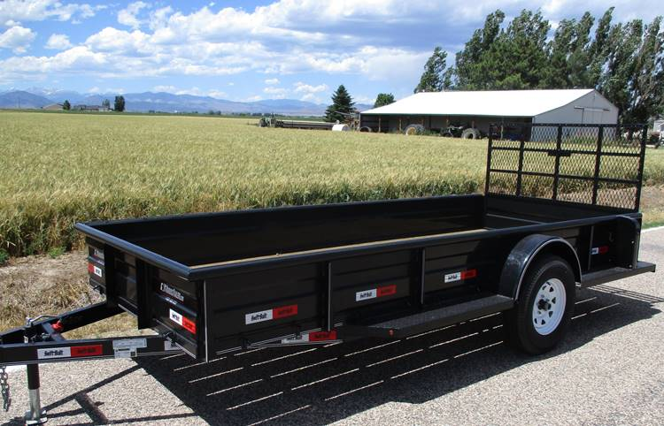 Swift Built Flat Bed Trailers